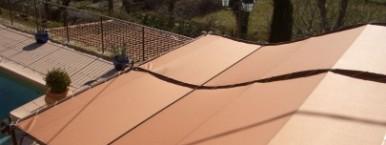 Toile Pergola 900g PVC