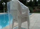 Housse pour pile de 6 chaises