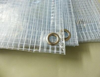 Bache pour pergola Plate 400g transparente armée - 350 cm x 450 cm ...